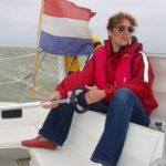Op de zeilboot